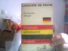 Larousse De Poche - Français-Allemand, - Allemand-Français