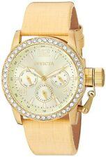 New Invicta 90222 Women's 'Corduba'  Leather Casual Watch