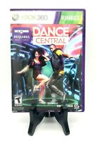 Dance Central Microsoft Xbox 360 Kinect Complete Game, Case, Manual Very Good