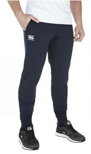 Canterbury Tapered Fleece Cuff Mens Track Pants - Navy - Size 3XL - BNWT