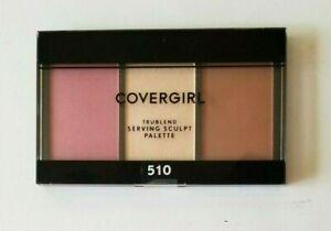 Covergirl Trueblend Serving Sculpt Bronzer Blush Highlighter Palette~Rose Nights