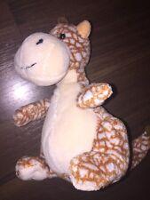 Plüschtier Kuscheltier Schlenker Stofftier Nanu Nana Dino Giraffe Braun Beige