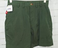 NEW! THE NORTH FACE Tibetan Hiking Short Men's 30 S Small 100% Nylon Green Pleat