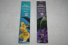 (2) INCENSE STICKS from THE AKRON in Hollywood * African Violet & Jasmine