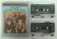 AUDIO BOOK CASSETTE - I'm Sorry I'll Read That Again BBC Radio Collection Tapes