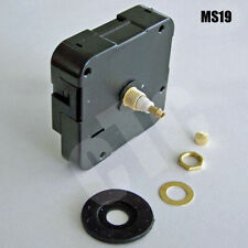 """Silent Sweep High Torque Quartz Clock Movement / Motor for dial up to 1/8"""" thick"""