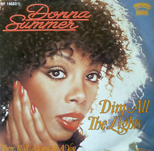 "7"" 1979 N MINT- ! DONNA SUMMER : Dim All The Lights"