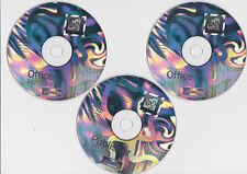 Microsoft Office xp Professional Version 2002 - 3 CDs mit Product-Key - 2001