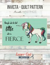 Laser Cut Quilts by Madi Hastings INVICTA UNICORN PATTERN