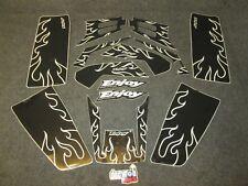 YAMAHA WARRIOR QUAD 1986-2004 Jouissez MFG noir flamme KIT GRAPHIQUE GR1600