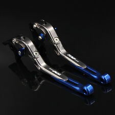 For SUZUKI SV650 1999-2009 CNC Adjustable Folding Extending Brake Clutch Levers
