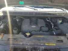 2005 NISSAN TITAN 5.6L ENGINE VIN A 4TH DIGIT UNLEADED FUEL TESTED