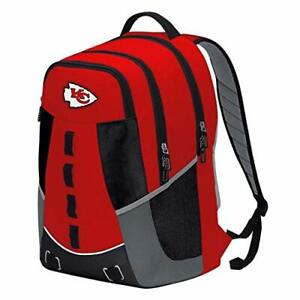 Kansas City Chiefs Premium Embroidered Backpack Heavy Duty Personnel Football
