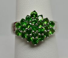 Natural Chrome Diopside Ring 925 Sterling Silver - NEW - Seller in USA 336