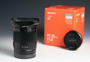 Sony FE 35mm F1.8 Lens (SEL35F18F)