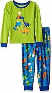 Toddler Boy's Prehistoric Dino Days Dinosaur Jersey Pajama Set