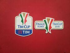 Patch Football Italy Tim Cup Final Roma 2016 Milan-Juventus 0-1
