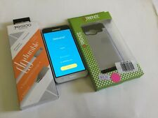 Samsung Galaxy Amp Prime Cricket Smartphone White Android Phone