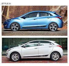 gt stripe decal set for hyundai i30 2013 4 door hatch