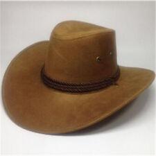 Hombres Mujeres Salvaje Oeste Fantasía Vaquera Vaquero Sombreros Classic Western Headwear casquillo UK