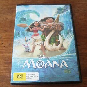 Moana Disney DVD R4 Like New! FREE POST