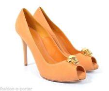 Suede Stiletto Peep Toes Heels for Women