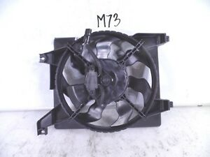 NEW COOLING FAN MOTOR OEM CONDENSER HYUNDAI ACCENT 06 07 08 09 10 11 97730-1E000