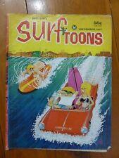 SURFTOONS PETERSON'S SEPTEMBER  1967 SURFING SURF MAGAZINE