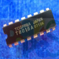 1pca TOSHIBA T8016A DIP-16 IC NEW m