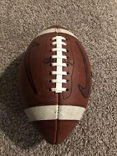 Virginia Tech Hokies Game Used Nike Football