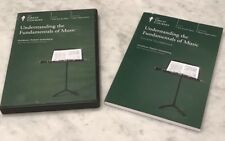 Great Courses DVDs - Understanding The Fundamentals Of Music, 4 DVDs In 1 Volume