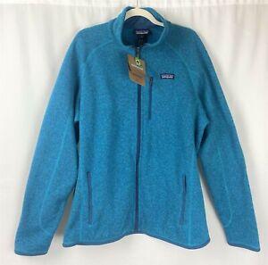 NWT Men's Patagonia Filter Blue Full Zip Fleece Better Sweater Jacket Size XL