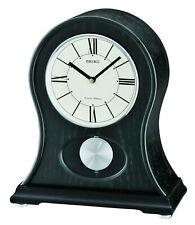 Seiko White Dial Shelf Clock Watch Qxq027Klh