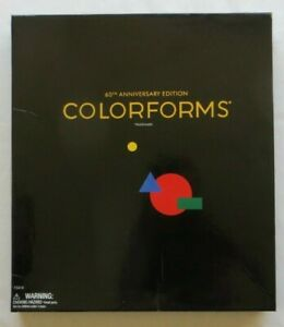 Colorforms Set 60th Anniversary Edition 2010 Activity Book Play Board 350 pieces