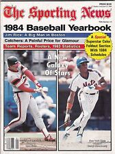 1984 Sporting News Baseball Yearbook Magazine W/Kittle & Darryl Strawberry Cover