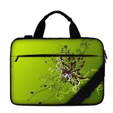 "Luxburg® 13"" Luxury Design Laptop Canvas Bag with Shoulder Strap & Handle #EB"