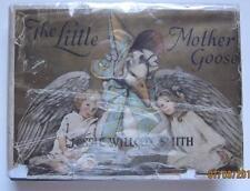 LITTLE MOTHER GOOSE JESSIE WILLCOX SMITH 1918 DODD MEAD RARE DJ 12 COLOR PLATES