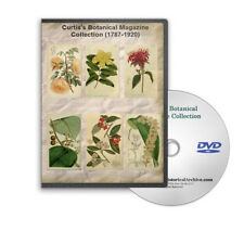 Curtis's Botanical Magazine 1787-1920 Vols 1 - 146  8000+ Images Flower DVD C791