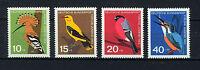 ALEMANIA/RFA WEST GERMANY 1963 MNH SC.B388/B391 Birds