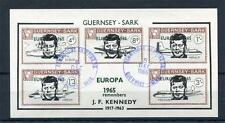 GUERNSEY-SARK JFK SHEET USED