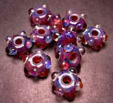 5FISH - BoRo GLaSS LAmPwoRK Borosilicate Spacers ~ Sunrise Bubbles