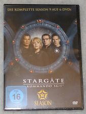 Stargate SG-1 Stagione 9 Nine Completo DVD Cofanetto - & - Regione 2