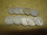 Anlegerposten, Niederlande Silber , 10 x 1 Gulden , 65 gramm, Investorenpaket