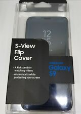 Samsung Galaxy S9  S-View Flip Case Cover OEM