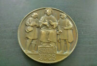 Rare médaille Métal D Mausolée Saint Yves Erwan Minihy-Tréguier Bretagne 1940
