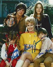 The Partridge Family Autographed COMPLETE CAST - VINTAGE 8x10