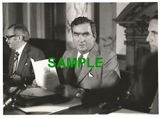ORIGINAL PRESS PHOTO LABOUR CHANCELLOR OF THE EXCHEQUER DENIS HEALEY