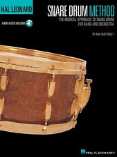 Hal Leonard Snare Drum Method The Musical Approach to Snare Drum for 006620059