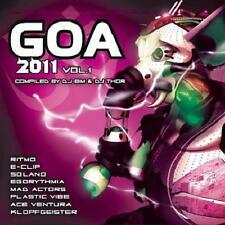 Goa 2011/1 = RITMO/e-Clip/Solano/DNA/phanatic... = 2cd = Psy Trance Progressive!