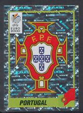 PANINI EUROPEI 2000 Calcio Sticker-n. 49-Portogallo FOIL BADGE (S712)